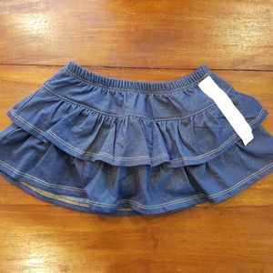 FIRST Impressions ruffled toddler girl skirt 24M